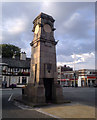 SJ8488 : Gatley Clock Tower by Steven Haslington