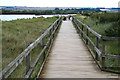 TF7544 : Boardwalk on the Titchwell reserve by David Lally
