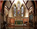 TQ1471 : St James, St James Road, Hampton Hill - Sanctuary by John Salmon