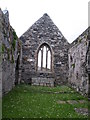 NR3488 : Oronsay Priory - church interior by Gordon Hatton