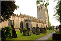 SK2164 : Youlgrave All Saints Church by Adrian Channing