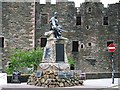 NX6851 : Kirkcudbright War Memorial by Rose and Trev Clough