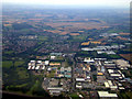 TL4209 : Pinnacles Industrial Estate from the air by Thomas Nugent