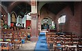 TQ2077 : St Michael, Elmwood Road, Sutton Court - South aisle by John Salmon