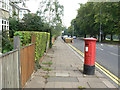 SP7761 : Park Ave South postbox (ref. NN3 113) by Alan Murray-Rust