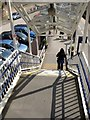 SE3055 : Stairs at Harrogate Station by Derek Harper