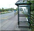 ST3486 : Spytty Road bus shelter, Newport by John Grayson