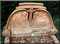 SP7754 : Terracotta grave by Alan Murray-Rust