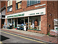 SU1405 : Ringwood Hardware shop front, Meeting House Lane by Peter Facey