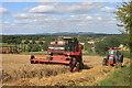 SO6624 : Combining at Linton Hill : Week 32