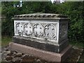 SO8674 : Gibbons family tomb-chest, St. Mary's churchyard, Stone by P L Chadwick