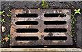 J4874 : McKeown grating cover, Newtownards by Albert Bridge
