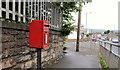 J4974 : Letter box, Newtownards by Albert Bridge