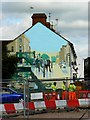 SU1584 : Mural, Medgbury Road, Swindon by Brian Robert Marshall