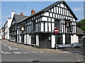 SO5112 : Queens Head Inn on corner of Saint James and Wyebridge Streets by Nick Smith