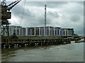 TQ2877 : Chelsea Bridge Wharf by Robin Webster