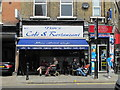 TQ2583 : Tim's Caf&eacute; &amp; Restaurant, Quex Road, NW6 by Mike Quinn