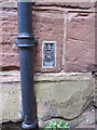 SJ4154 : Flush bracket S1197 on St Chad's church by John S Turner