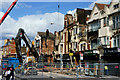 TQ3166 : Croydon Riots - demolition : Week 33