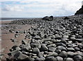 SS9647 : Stony beach, below Culver Cliff : Week 33