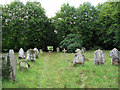 TL5841 : Ashdon churchyard by John Sutton