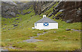 NG4819 : Coruisk Memorial Hut by Andrew Hackney