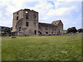 SE6183 : The West Range, Helmsley Castle by David Dixon