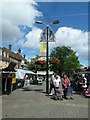 TQ2636 : August 2011 in Crawley's historic High Street (l) by Basher Eyre
