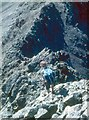 NG4423 : Descent to Sgurr Thuilm by Alan Reid