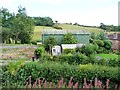 SO7581 : Big green shed, Brooksmouth Farm by Christine Johnstone