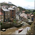 NZ7818 : Wesley Square, Staithes by Dave Hitchborne