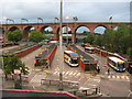 SJ8990 : Stockport Bus Station by Stephen Armstrong