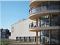 TQ7407 : De La Warr Pavilion by Oast House Archive