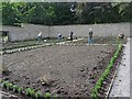 SO1408 : Restoration of the kitchen garden, Bedwellty Park by Robin Drayton