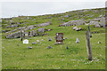 NA9812 : Unfenced graveyard at Huisinis by Mike Pennington