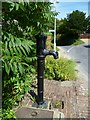 TQ2411 : Village pump in Fulking by Shazz