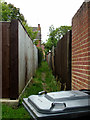 TL8565 : Narrow path leading to Northgate Avenue by John Goldsmith
