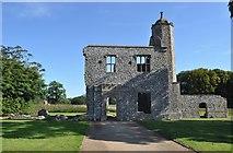 TG1238 : Baconsthorpe Castle by Ashley Dace