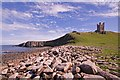 NU2522 : Castle Point and Dunstanburgh Castle by Ian Capper