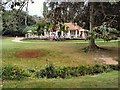 TQ8110 : Cafe in Alexandra Park by Paul Gillett