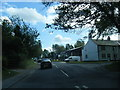 SJ7876 : Chelford Road at School Lane junction by Colin Pyle