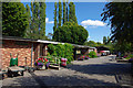 SP0683 : Buildings at Birmingham Nature Centre by Phil Champion