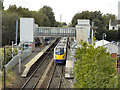 SJ9186 : Hazel Grove Station by David Dixon