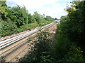 TQ4268 : Railway tracks near Bickley by Ian Yarham
