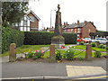 SJ8786 : Cheadle Hulme War Memorial and Memorial Garden by David Dixon