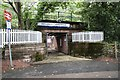 NS2491 : Subway Entrance for Garelochhead station by Eddie Mackinnon
