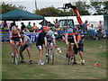 TF1444 : Cycle racing at the Heckington Show by Michael Trolove