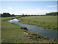 SP2181 : River Blythe south of Patrick Bridge  by Robin Stott