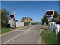 TL6170 : Cockpen Road level crossing by Hugh Venables