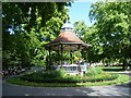 TQ3176 : The bandstand in Myatts Fields Park by Ian Yarham